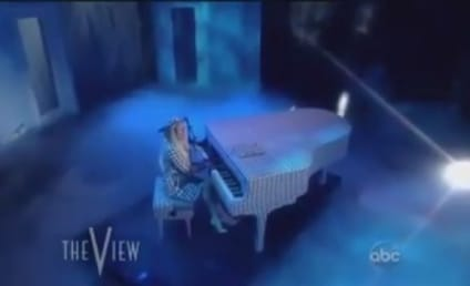"""Lady Gaga Performs """"You and I"""" on The View: Watch Now!"""