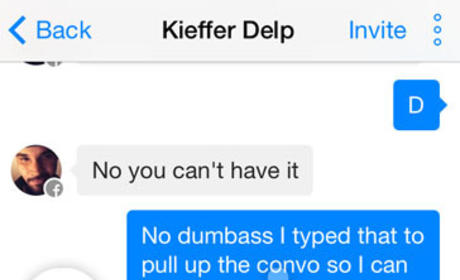 Jenelle Evans to Kieffer Delp: Go Kill Yourself You N-----!