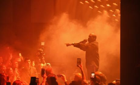 "Kanye West Stops Concert Due to ""Family Emergency"""