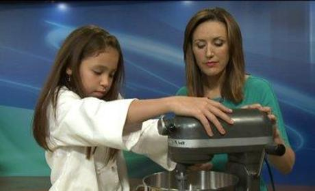 Young Chef Offers Healthy Recipe Advice