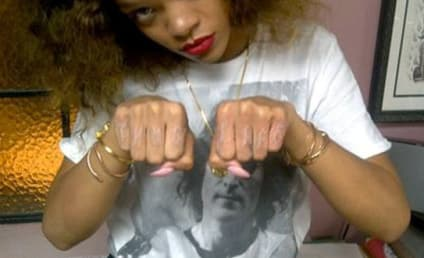 Thug Life: Rihanna Gets Another New Tattoo
