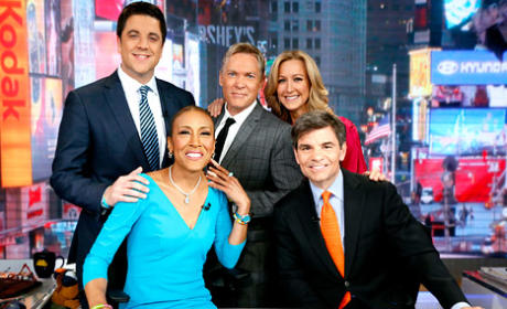 Robin Roberts Returns to Good Morning America!