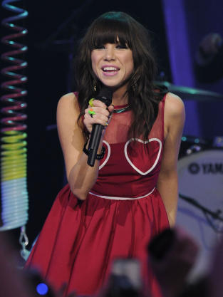Carly Rae Jepsen in Red