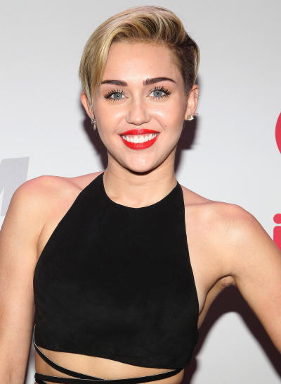 Miley Cyrus at Jingle Ball