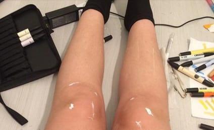 Woman's Shiny Legs Vex Internet, Lead to Mass Hysteria