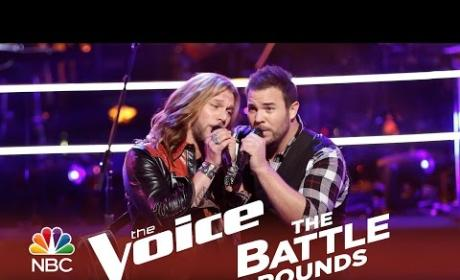 Craig Wayne Boyd vs. James David Carter (The Voice Battle Round)