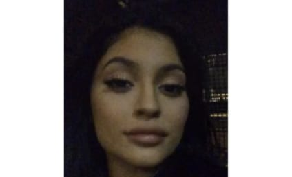 Kylie Jenner Flaunts HUGE Lips, Possibly Hints at Breakup With Tyga on Instagram