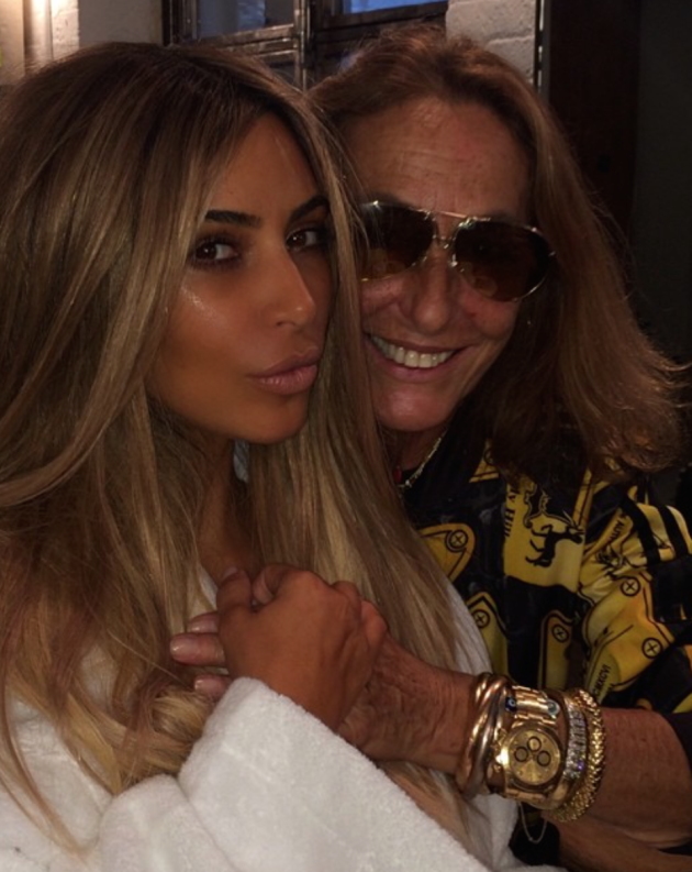 Kim Kardashian Blonde Photograph