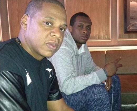 Jay Z and Geno Smith