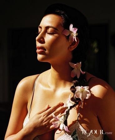 Kim Kardashian DuJour Pic
