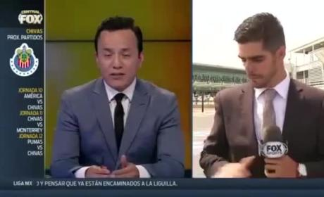 Journalist Gets Hit By Car on Live Television