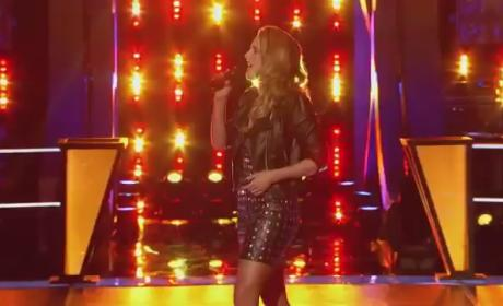 Amy Whitcomb vs. Caroline Glaser - The Voice Knockout Round