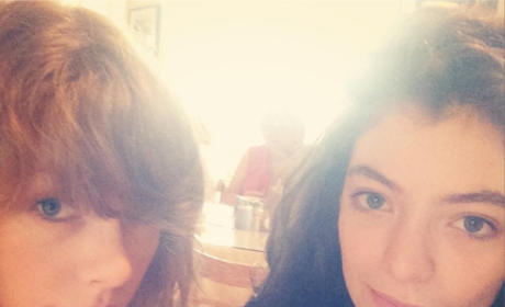 Taylor Swift and Lorde on Instagram