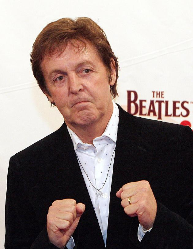 Paul McCartney Fight