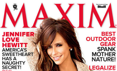 Jennifer Love Hewitt Named Sexiest Maxim Cover Girl of All Time