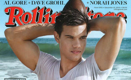 Taylor Lautner on Rolling Stone: One Wet Wolf