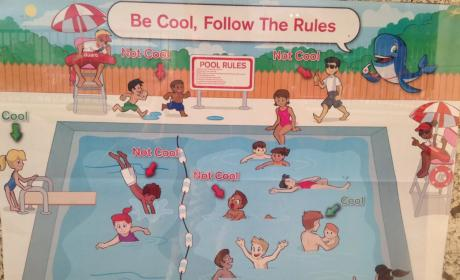 This Pool Safety Poster May Be the Most Racist Thing Ever