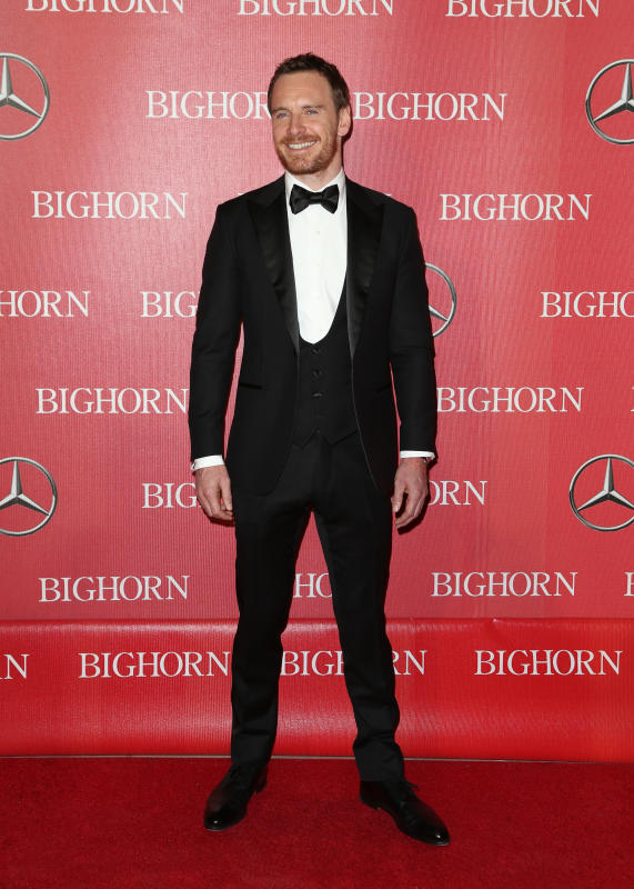 Michael Fassbender: 27th Annual Palm Springs International Film Festival Awards Gala