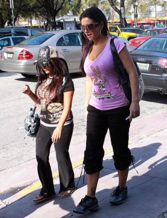 Snooki and J-Woww Photo