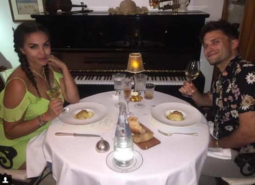 Katie Maloney and Tom Schwartz at Dinner