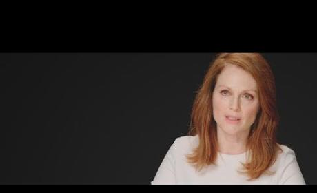 Julianne Moore Talks Mockingjay