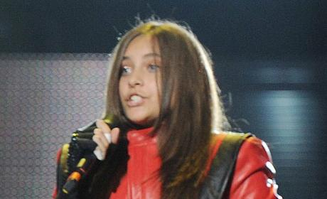 Paris Jackson at Tribute Concert