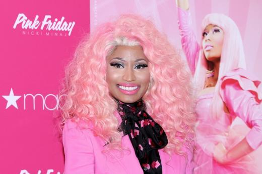 Nicki Minaj Pink Hair