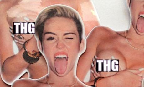 17 Craziest Celebrity Items on Etsy: Miley Cyrus Nip Slip STICKERS Are a Thing!!