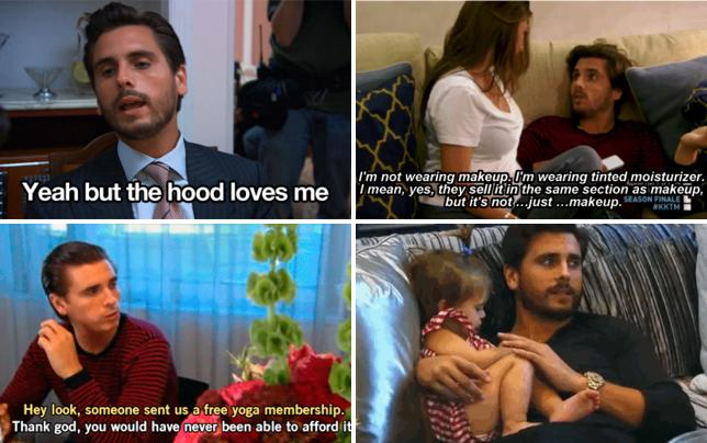 Scott disick yeah but the hood loves me gif