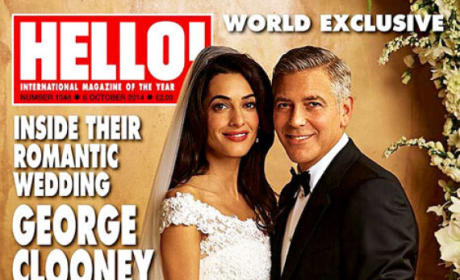 George Clooney and Amal Alamuddin Photos: So In Love!