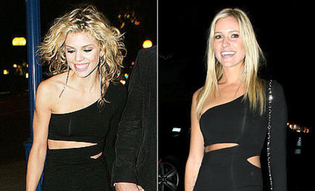 Fashion Face-Off: AnnaLynne McCord vs. Kristin Cavallari
