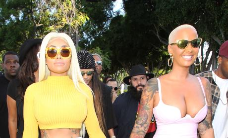 Amber Rose and Black Chyna Head Into Kitson LA