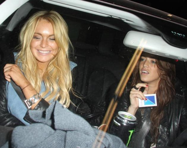 Eilat Anschel and Lindsay Lohan