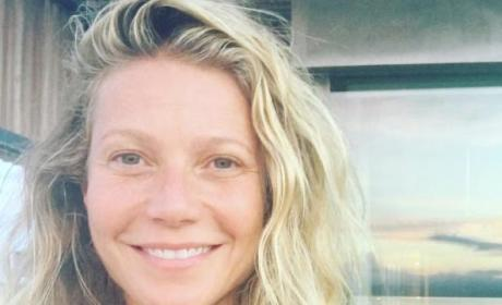 Gwyneth Paltrow No Makeup Instagram Selfie