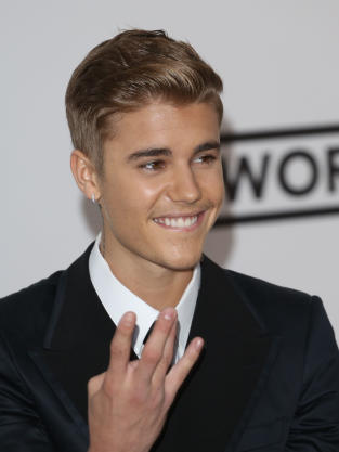 Justin Bieber Cannes Pic