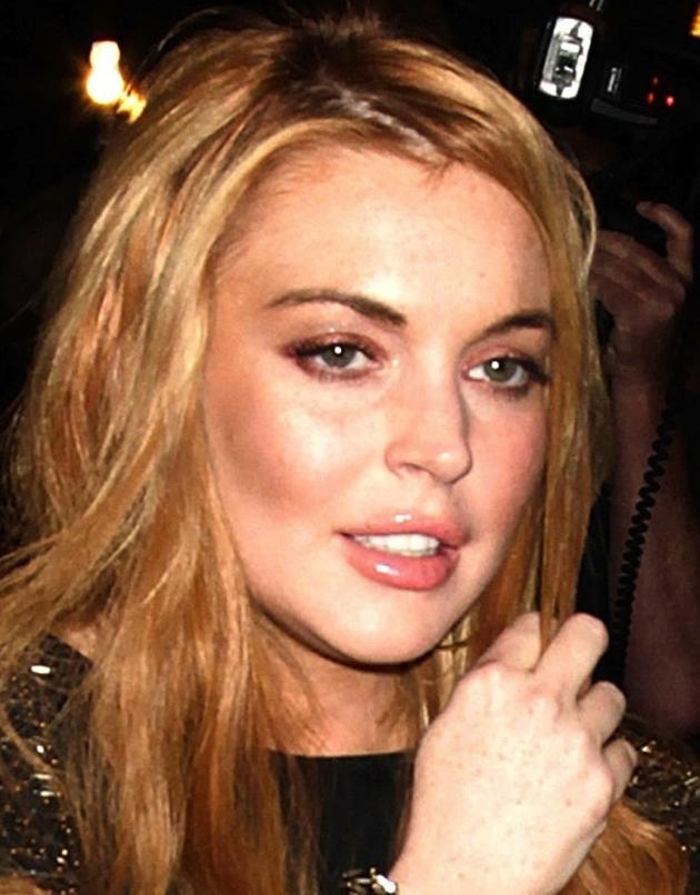 Lindsay Lohan Plowed