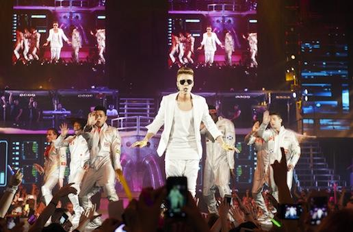 Justin Bieber Germany Concert Pic