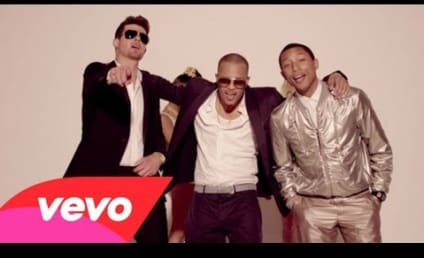 "Robin Thicke: Sued Over ""Blurred Lines"" & More By Marvin Gaye Estate"