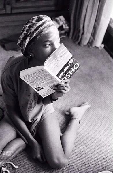 Willow Smith Reading Osho