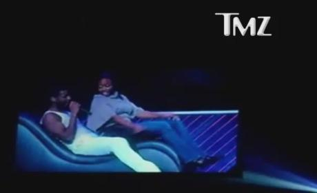 Usher Kicked in the Face in Concert: Watch Now!