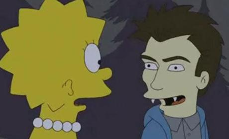 The Simpsons to Spoof the Twilight Saga: First Look