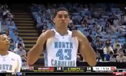 """Fan Distracts UNC Foul Shooter with """"Wrecking Ball"""" Refrain"""