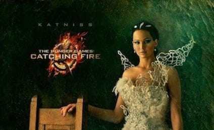 Catching Fire Portraits: Katniss! Peeta! Gale!