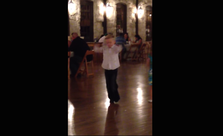 Very Young Wedding Guest is the Best Dancer You've Ever Seen
