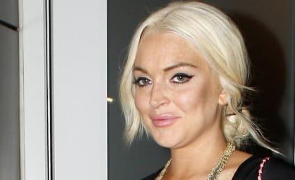 Lindsay Lohan Actually Lands Modeling Gig