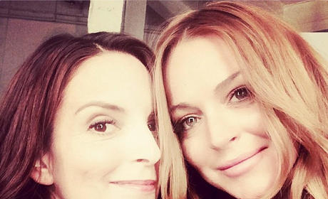 Lindsay Lohan and Tina Fey Snap Unexpected Selfie: This is So Fetch!