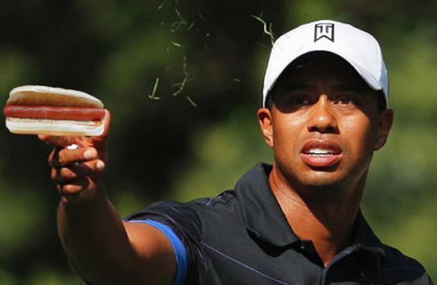 Tiger Woods, Hot Dog