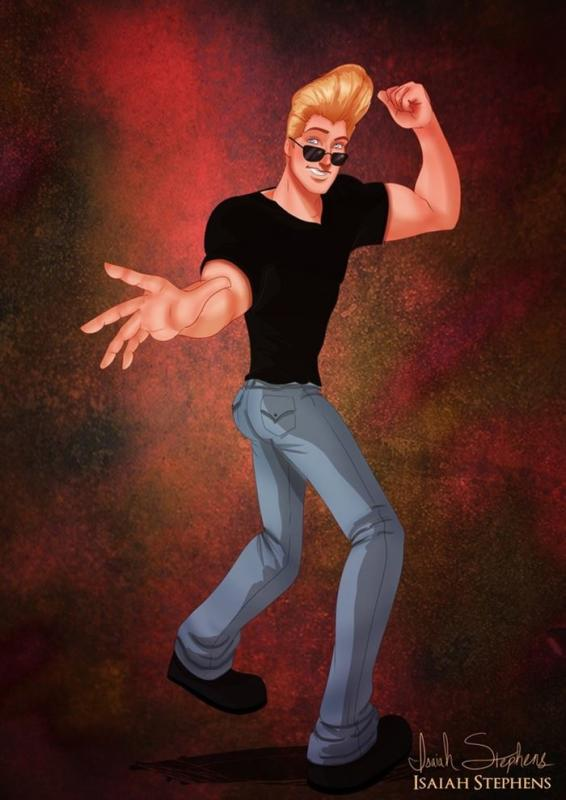 John Smith as Johnny Bravo