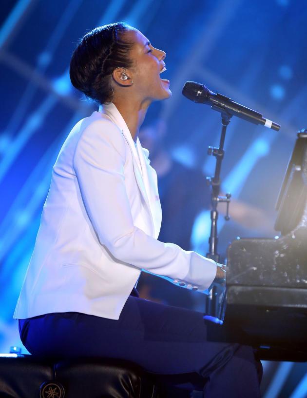 Alicia Keys on Stage