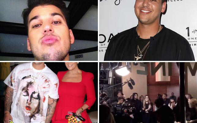 Rob kardashian instagram photo